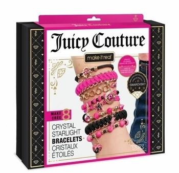 Набор для творчества Make It Real Juicy Couture Swarovski Black & Pink