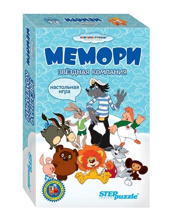 Настольная игра «Мемори. Звёздная компания»