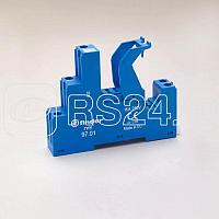 Клипса пластиковая для реле 46 серии для розеток 97.01 97.02 97.51 97.52 FINDER 09701