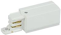 Ввод кабельный левый для трехфазного шинопровода бел. ИЭК LPK0D-KVL-3-K01