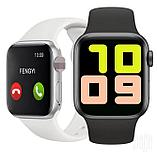 """Сенсорные умные часы-телефон """"T500"""" Smart-Watch Apple дизайн, фото 3"""
