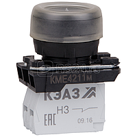 Кнопка КМЕ 4211м 1но+1нз цилиндр IP65 черн. КЭАЗ 248243
