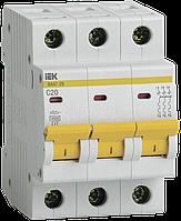 Выключатель автоматический модульный 3п C 20А 4.5кА ВА47-29 ИЭК MVA20-3-020-C