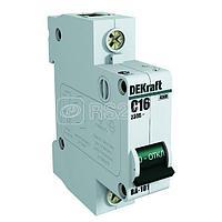 Выключатель автоматический модульный 1п C 50А 4.5кА ВА-101 SchE 11059DEK
