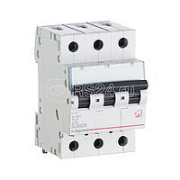 Выключатель автоматический модульный 3п C 16А 6кА TX3 6000 3мод. 400В Leg 404056
