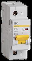 Выключатель автоматический модульный 1п C 16А 10кА ВА47-100 ИЭК MVA40-1-016-C