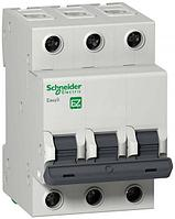 Выключатель автоматический модульный 3п C 50А 4.5кА EASY9 =S= SchE EZ9F34350