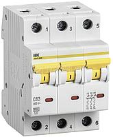 Выключатель автоматический модульный 3п C 25А 6кА ВА47-60M ИЭК MVA31-3-025-C