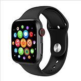 """Сенсорные умные часы-телефон """"T500"""" Smart-Watch Apple дизайн, фото 4"""