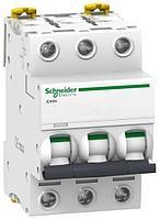 Выключатель автоматический модульный 3п C 16А 6кА iC60N Acti9 SchE A9F79316