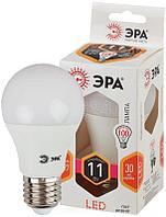 Лампа светодиодная A60-11w-827-E27 грушевидная 880лм ЭРА Б0017233/Б0030910