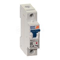 Выключатель автоматический модульный 1п C 50А 6кА OptiDin BM63-1C50-УХЛ3 КЭАЗ 260512