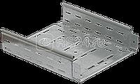 Лоток листовой перфорированный 200х100 L3000 сталь 0.8мм ИЭК CLP10-100-200-3