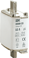 Вставка плавкая ППНИ-35 160А габарит 1 ИЭК DPP30-160