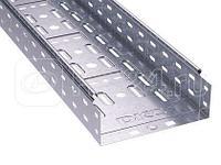 Лоток листовой перфорированный 300х100 L3000 сталь 0.7мм DKC 35344