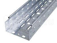 Лоток листовой перфорированный 100х80 L3000 сталь 0.7мм гор. оцинк. DKC 35302HDZ