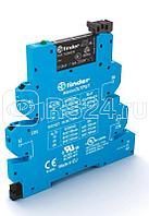 Модуль интерфейсный (сборка 34.51.7.024.0010 + 93.65.7.024) электромеханич. реле MasterOUTPUT 1NO 6A 24В AC/DC IP20 безвинт. клеммы Push-in Finder