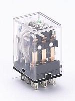 Реле промежуточное ПР-102 3 конт. с инд. LED 5А 24В DC SchE 23223DEK