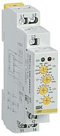 Реле фаз ORF 04 3ф 220-460В AC ИЭК ORF-04-220-460VAC