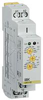 Реле повышения напряжения ORV 1ф 220В AC ИЭК ORV-02-A220
