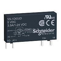 Реле твердотельное 1 фаза 35А 24В 24В SchE SSL1D03BD