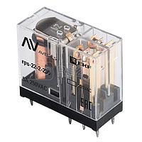Реле промежуточное РП slim 22/2 5А 230В AC AVERES EKF rps-22-2-230