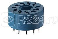 Розетка для монтажа на плате для реле 60.13 таймера 88.02 диаметр 22мм FINDER 9015