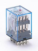 Реле промежуточное ПР-102 4 конт. с инд. LED 3А 24В AC SchE 23231DEK