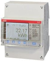 Счетчик 1ф активной энергии прям. вкл. 5(80)А 1 класс точн. 1 тариф. имп. выход RS485 тип A41 112-200 ABB 2CMA100083R1000