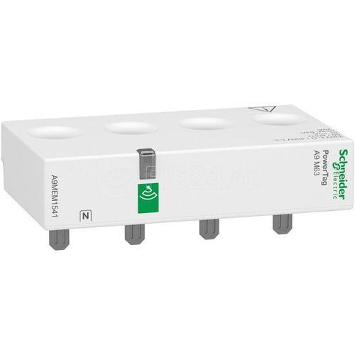 Датчик беспроводной ACTI9 POWERTAG 63А 3P+N / 4P выше аппарата S SchE A9MEM1541