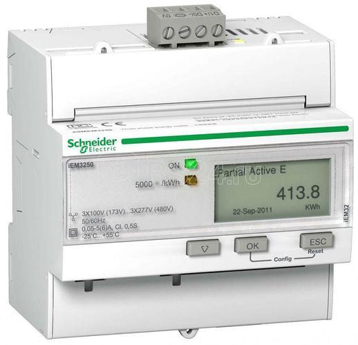 Счетчик электроэнергии iEM3250 SchE A9MEM3250R