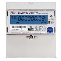 Счетчик НЕВА МТ 124 AR2S RF2PC 5(60)А 1ф 78 регион Тайпит 6118502