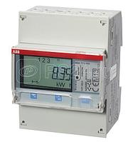 Счетчик 3-ф акт-реакт. энергии (2Н)1-тариф. класс точн. 1 прямого вкл. 5(65)А имп. вых. RS485тип B23 212-200 ABB 2CMA100804R1000