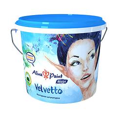 Декоративная штукатурка Alina Paint Velvetto