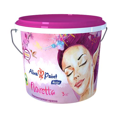 Декоративная краска Alina Paint Floretta