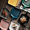 Керамическая тарелка в форме сковороды, фото 2