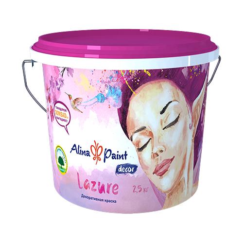 Декоративная краска Alina Paint Lazure