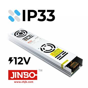 Не влагозащищенные (открытые) трансформаторы IP 33 (12V)