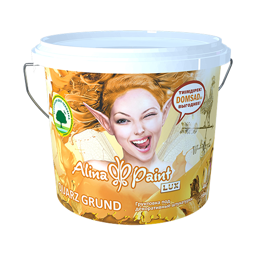 Грунтовка всесезонная Alina Paint Quarz Grund