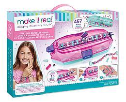 Набор для творчества Make It Real Набор для создания шарм-браслетов Gem Links Bracelet Maker
