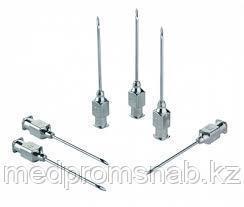"""Игла инъекционная к шприцам типа """"Рекорд"""" 1,1х10 мм, многократного применения"""