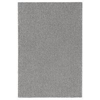 Ковер короткий ворс СТОЭНСЕ серый 200x300 см ИКЕА, IKEA, фото 1