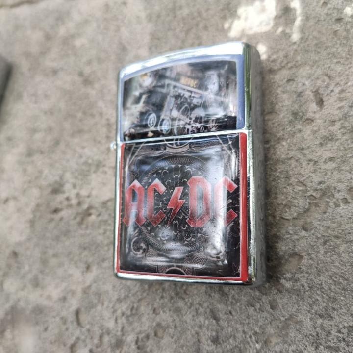 Зажигалка AC/DC Black Ice