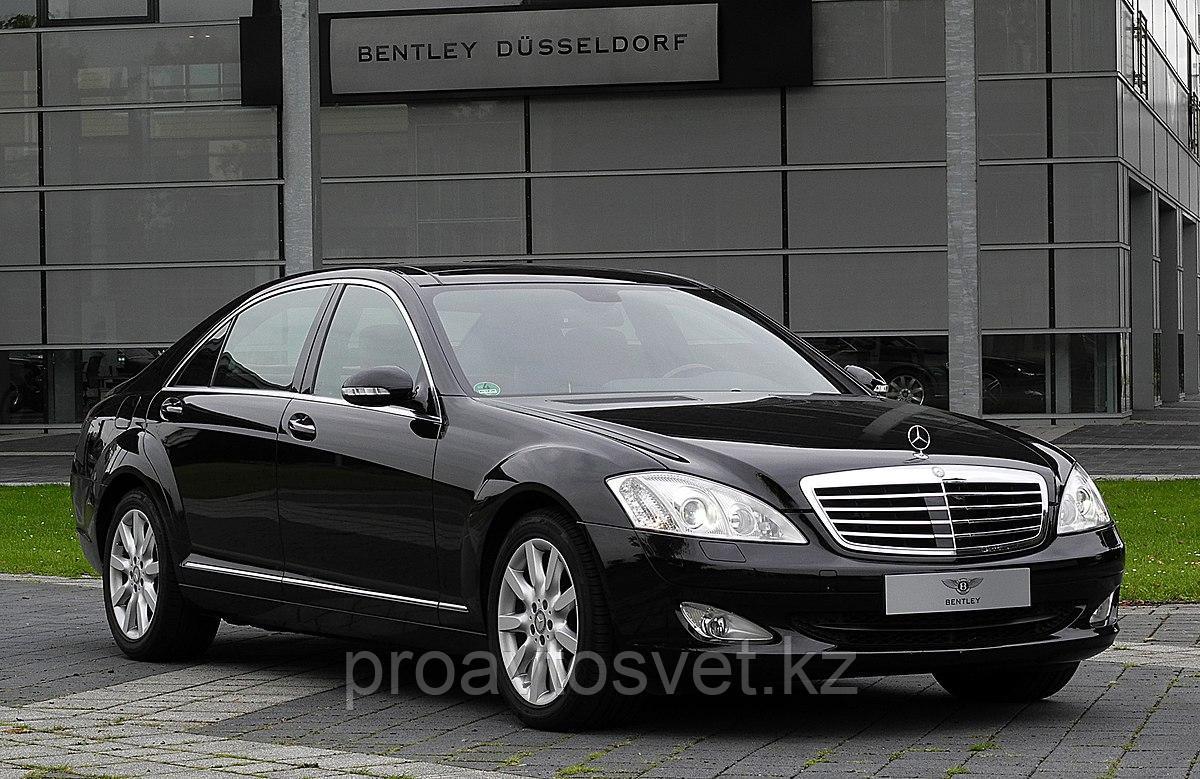 Переходные рамки на Mercedes-Benz S-class (2010-2013) на дальний