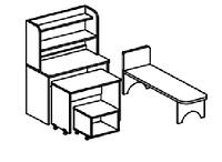 Игровой модуль БОЛЬНИЦА (800х400х1220 мм) арт. БЛ1, фото 1