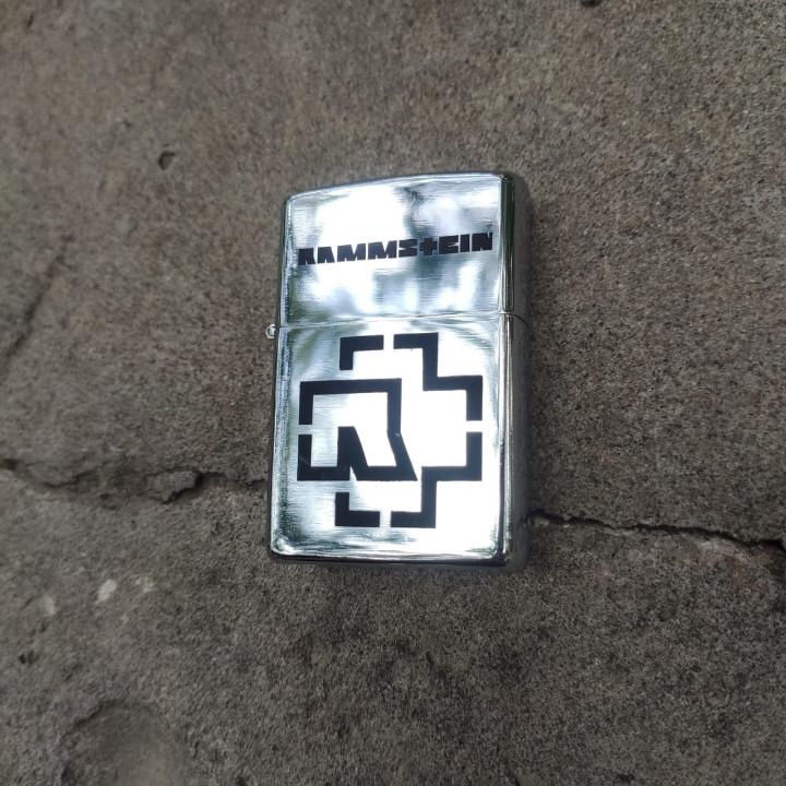 Зажигалка Rammstein