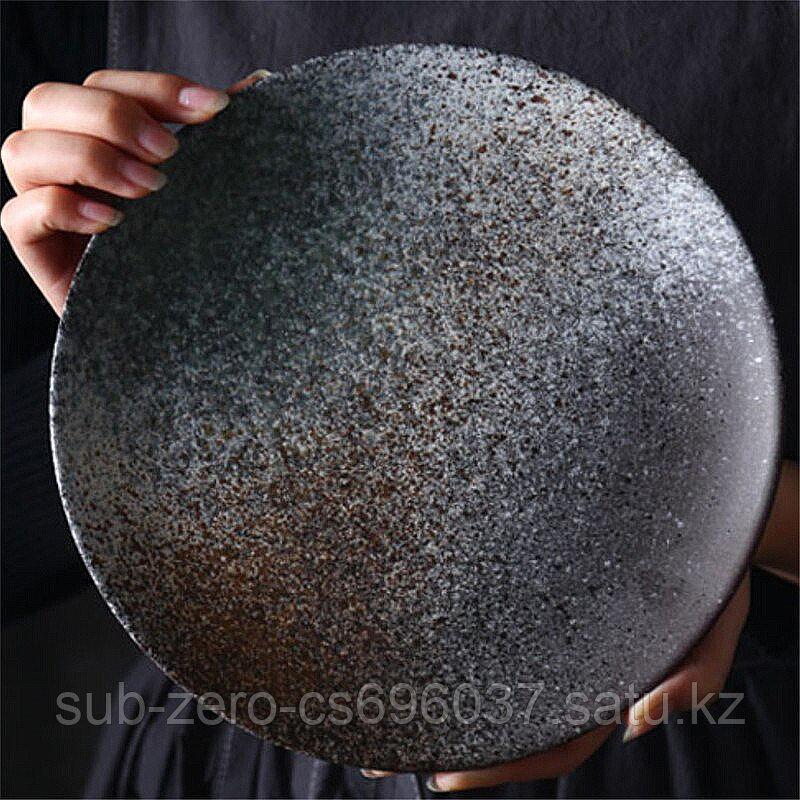 Керамическая тарелка «Grey Sky»