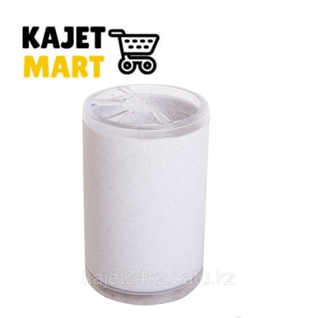 "Подставка для зубных щеток ""Joli"" (белый мрамор)"