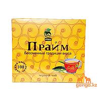 Чай черный пакетированный ПРАЙМ, 100 пак.
