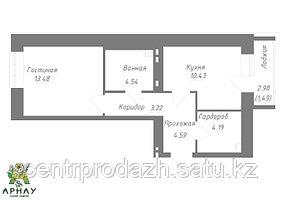 1 комнатная квартира в ЖК Арнау 36,23 м²